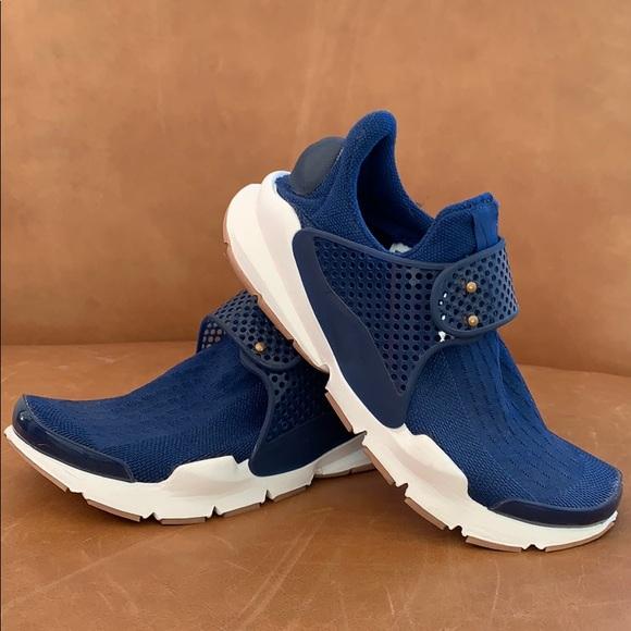 pretty nice c9875 156d7 Nike Sock Dart (size 5M/6.5W) blue